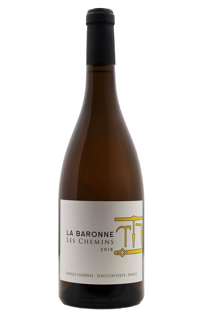 Les Chemins Blanc - Château La Baronne 2018 - BIO