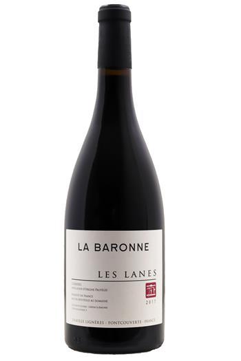 Les Lanes Rouge - Château La Baronne 2017 - BIO