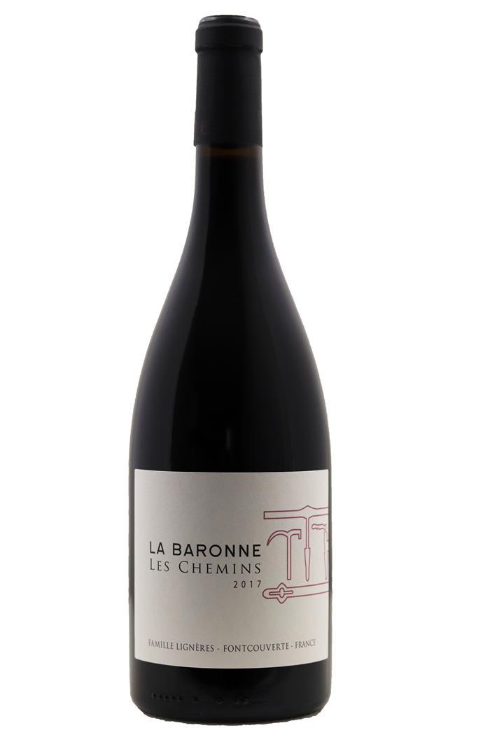 Les Chemins Rouge - Château La Baronne 2017 - BIO