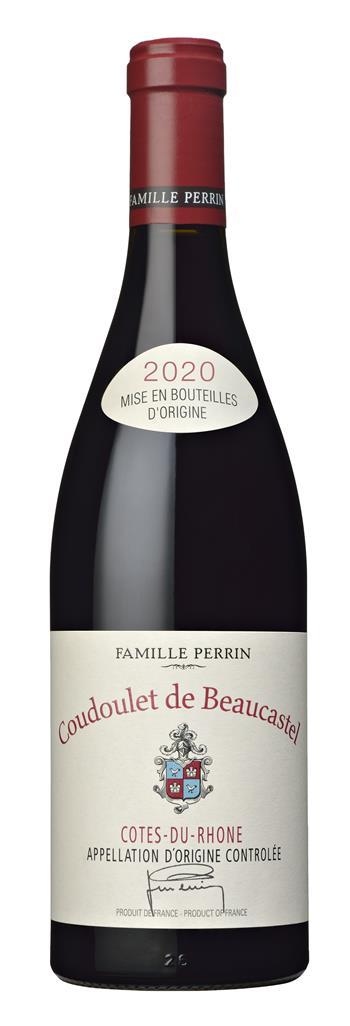Coudoulet de Beaucaustel Rouge - Famille Perrin 2020 Primeur