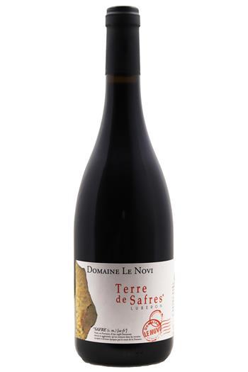 Terre de Safres Rouge - Domaine Le Novi 2018 - BIO