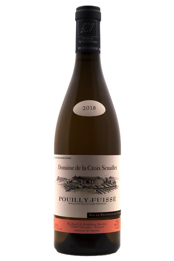 Pouilly-Fuissé - Domaine de la Croix Senaillet 2018 - BIO