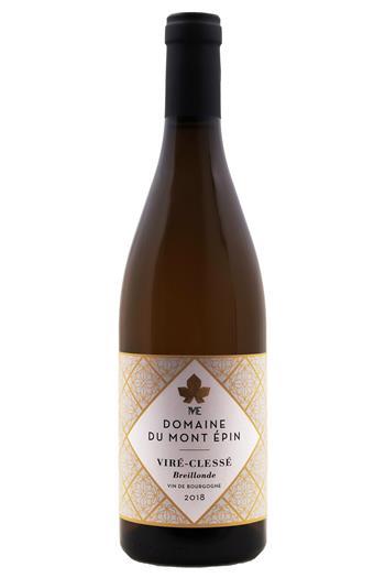 Viré-Clessé  Breillonde  - Domaine du Mont-Epin 2018 - BIO