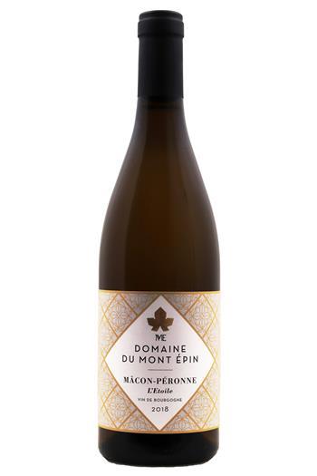 Mâcon-Péronne  L étoile  - Domaine du Mont-Epin 2018 - BIO