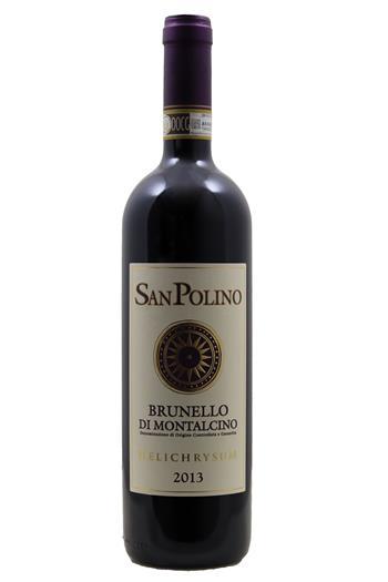 Brunello di Montalcino  Helichrysum  - San Polino 2013 - BIO