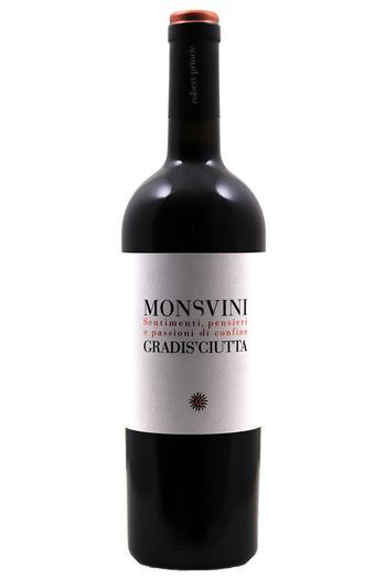 Monsvini Vino Rosso - Gradis ciutta 2015
