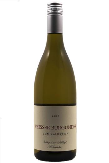 Weisser Burgunder  Vom Kalkstein  - Weingut Schneider 2019