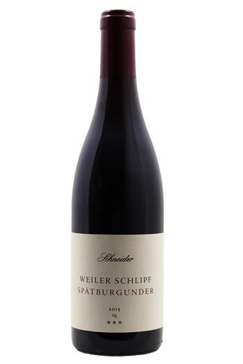 Spätburgunder CS*** - Weingut Claus Schneider 2015
