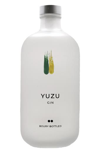 Boury Botlled Gin Yuzu