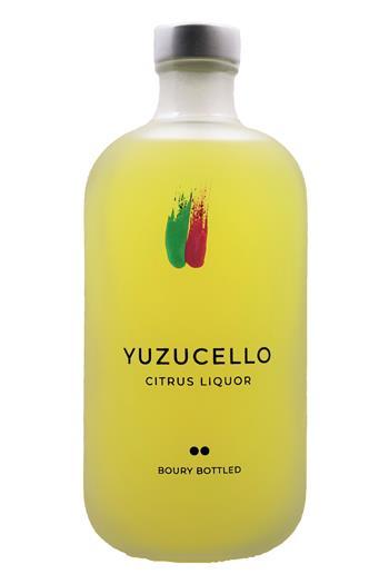 Boury Bottled Yuzucello