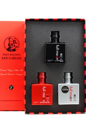 Full Moon Red Gift Box 3x200ml